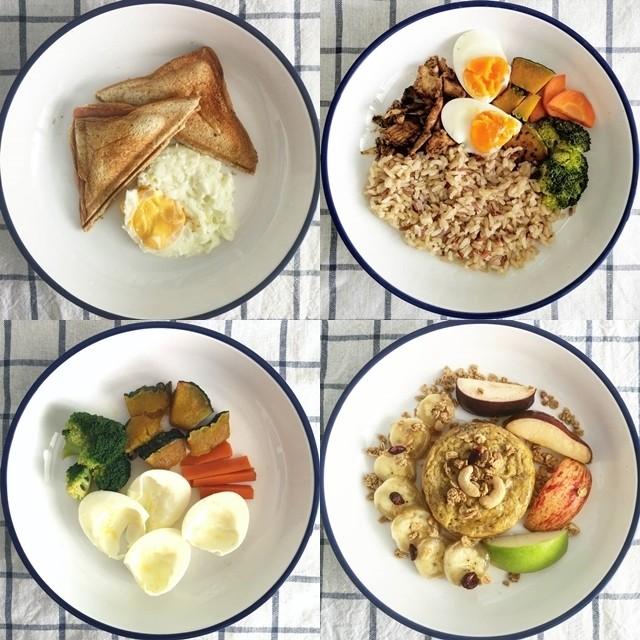 อาหารลดน้ำหนัก มื้อเช้า กลางวัน เย็น