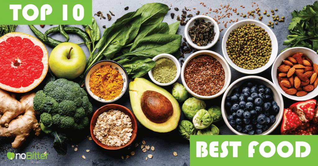 10 อาหารเพื่อสุขภาพ ที่ดีที่สุดในโลก